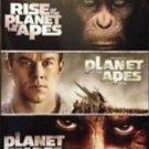 3movie DVD rise planet apes - Freida PINTO John LITHGOW Tim ROTH Helena BONHAM