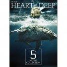 5movie DVD Deadly Wake,Blood Tide,Sea Wolf,ADRIFT,Michael PARE James Earl JONES