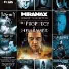11Movie DVD HELLRAISER,PROPHECY,FORSAKEN,UPRISING,DEADER,HELLWORLD,HELLSEEKER