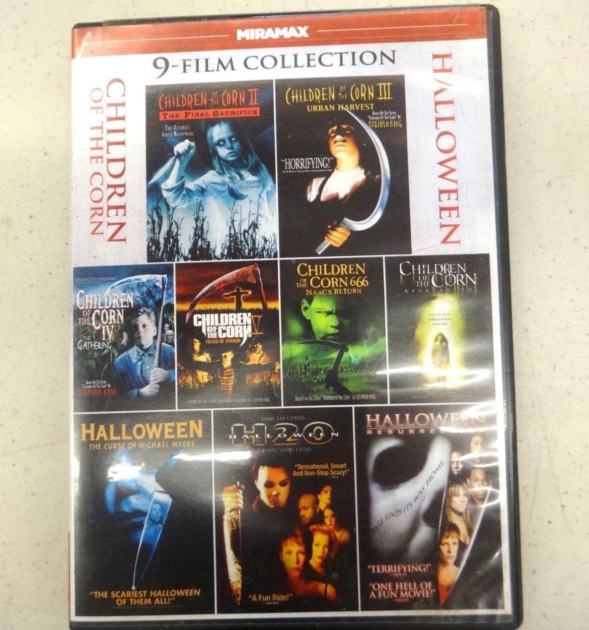 9movie 13hrs DVD Michael IRONSIDE,HALLOWEEN,Naomi WATTS,Karen BLACK,RESURRECTION