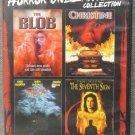 4Movie DVD BLOB,CHRISTINE,Fright Night,Demi MOORE Amanda BEARSE Shawnee SMITH