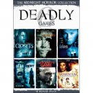 6movie DVD CLOSETS,DARKNESS,MEMORY,MOMENTUM,Dead Night,Prophet Game,Anne MARGRET
