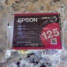 Epson T1253 RED 125 genuine T125320 magenta ink printer Stylus NX625 NX420 NX230