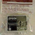Epson T0441 BLACK Ink jet C64 C66 C84 stylus printer copier TO44120 T044120