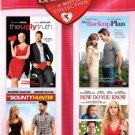 4movie DVD Katherine HEIGL Jennifer LOPEZ Jennifer ANISTON Reese WITHERSPOON