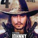 4Movie DVD Johnny DEPP Lenor VARELA Iggy POP John HURT Shaun CASSIDY Mili AVITAL