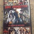 10movie DVD TORTURE,SEX,PROFANITY,GORE,VIOLENCE,Drug Use,NUDITY,DEATH,BLOOD,evil