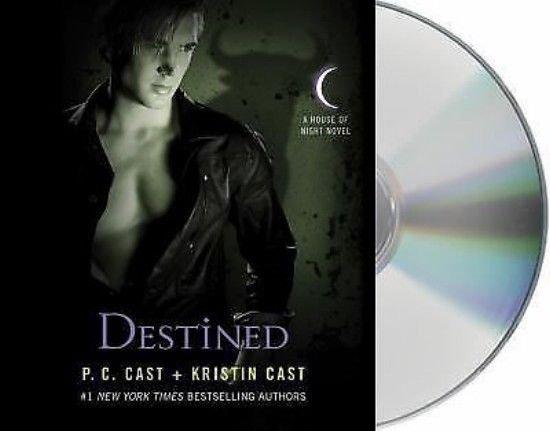 DESTINED 4hrs 3disc CD audio book - House of Night Novel Bk9 PC & Kristin Cast