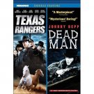 2movie DVD Texas Rangers & Dead Man DVD Ashton KUTCHER Rachael COOK Johnny DEPP
