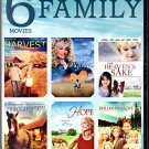6movie 9hr DVD Rebecca JENKINS Florence HENDERSON Ashley CROW Valerie BERTINELLI