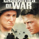 Casualties of War DVD Michael FOX Sean PENN Brian DEPALMA Vietnam War