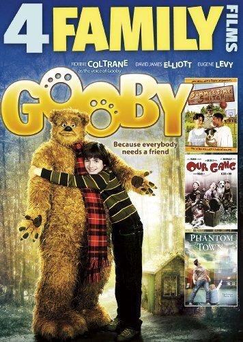 4movie DVD Phantom Town,Summertime Switch,Gooby,Robbie COLTRANE David ELLIOTT