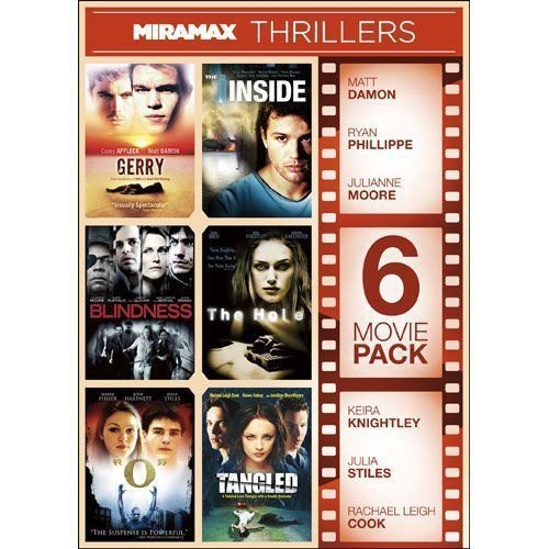 6movie DVD Matt DAMON Piper PERABO Thora BIRCH Embeth DAVIDTZ Leigh COOK,TANGLED