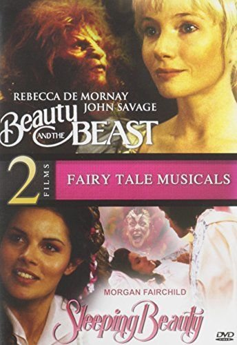 2movie Sleeping Beauty & the Beast DVD Morgan FAIRCHILD John SAVAGE Jane WIEDLIN