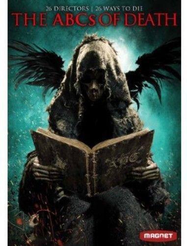 ABCs of Death 130mins. DVD Kaare ANDREWS Angela BETTIS Helene CATTET Jake WEST