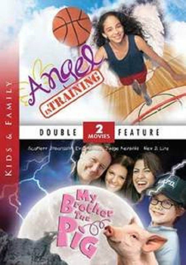 2movie DVD Angel in Training & My Brother the Pig Scarlett JOHANSSON Eva MENDES