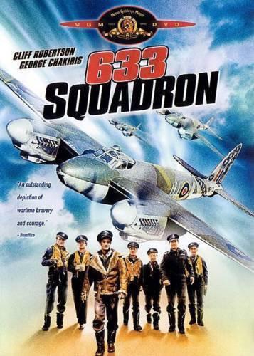 633 Squadron DVD Cliff ROBERTSON George CHAKIRIS Maria PERSCHY Harry ANDREWS