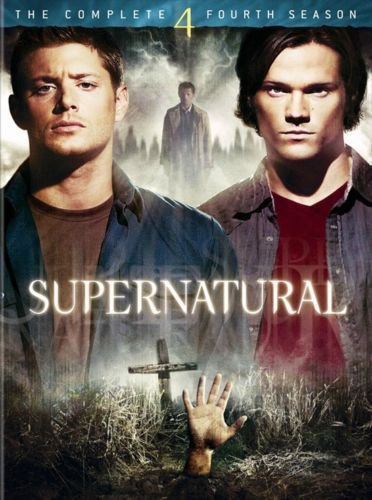 SUPERNATURAL season 4 fourth 6disc DVD Helen Slater,Alexa Nikolas,Mandy Playdon