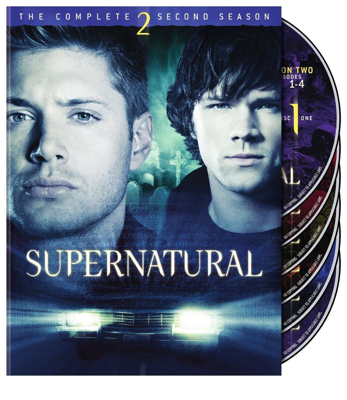 SUPERNATURAL season 2 second 6disc DVD Linda Blair,Lindsey McKeon,Amber Benson