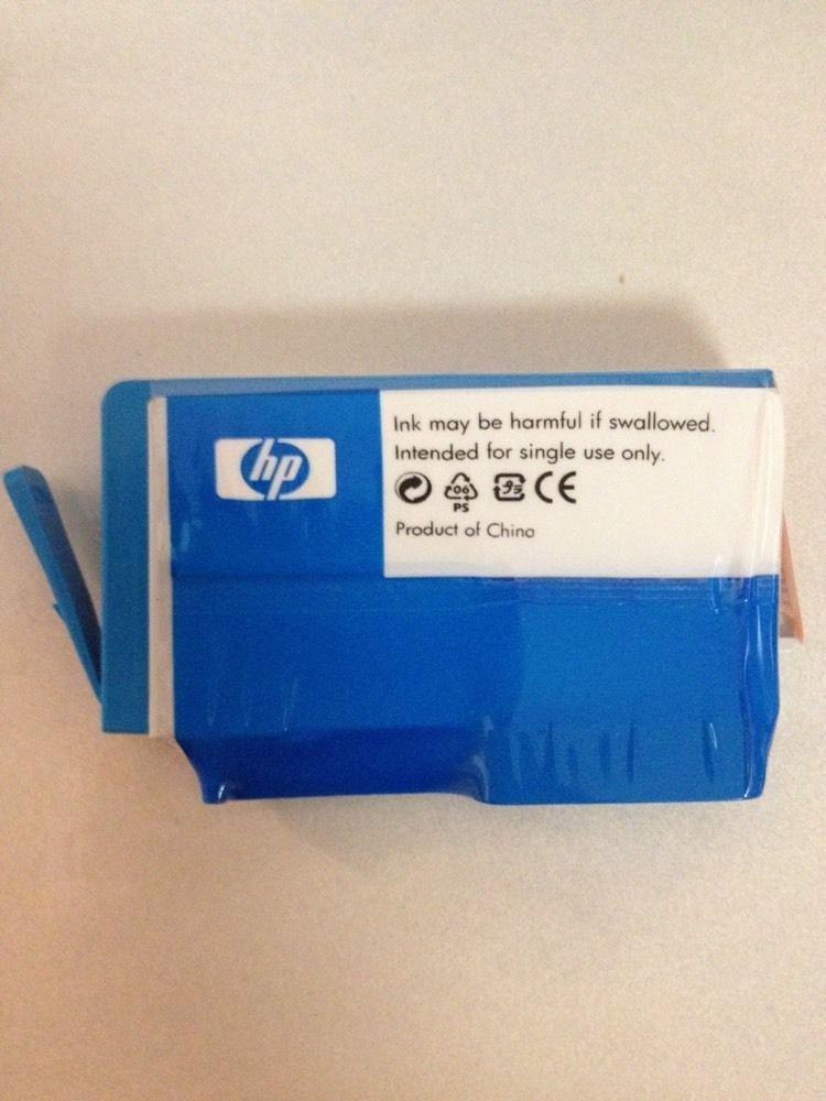 genuine 920 HP blue cayn ink jet cartridge OfficeJet 6000 wireless printer E609N