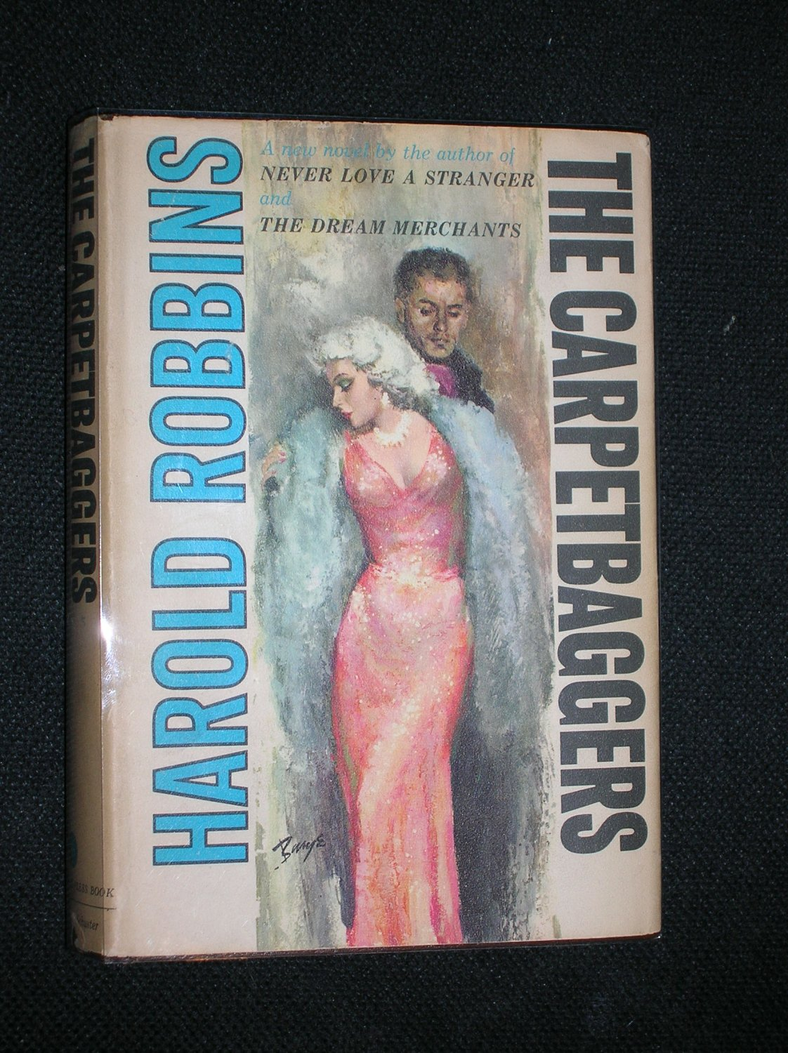 The Carpetbaggers (First Edition, 1961) [Signed / Inscribed]