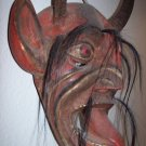 mexican folk art devil/diablo mask