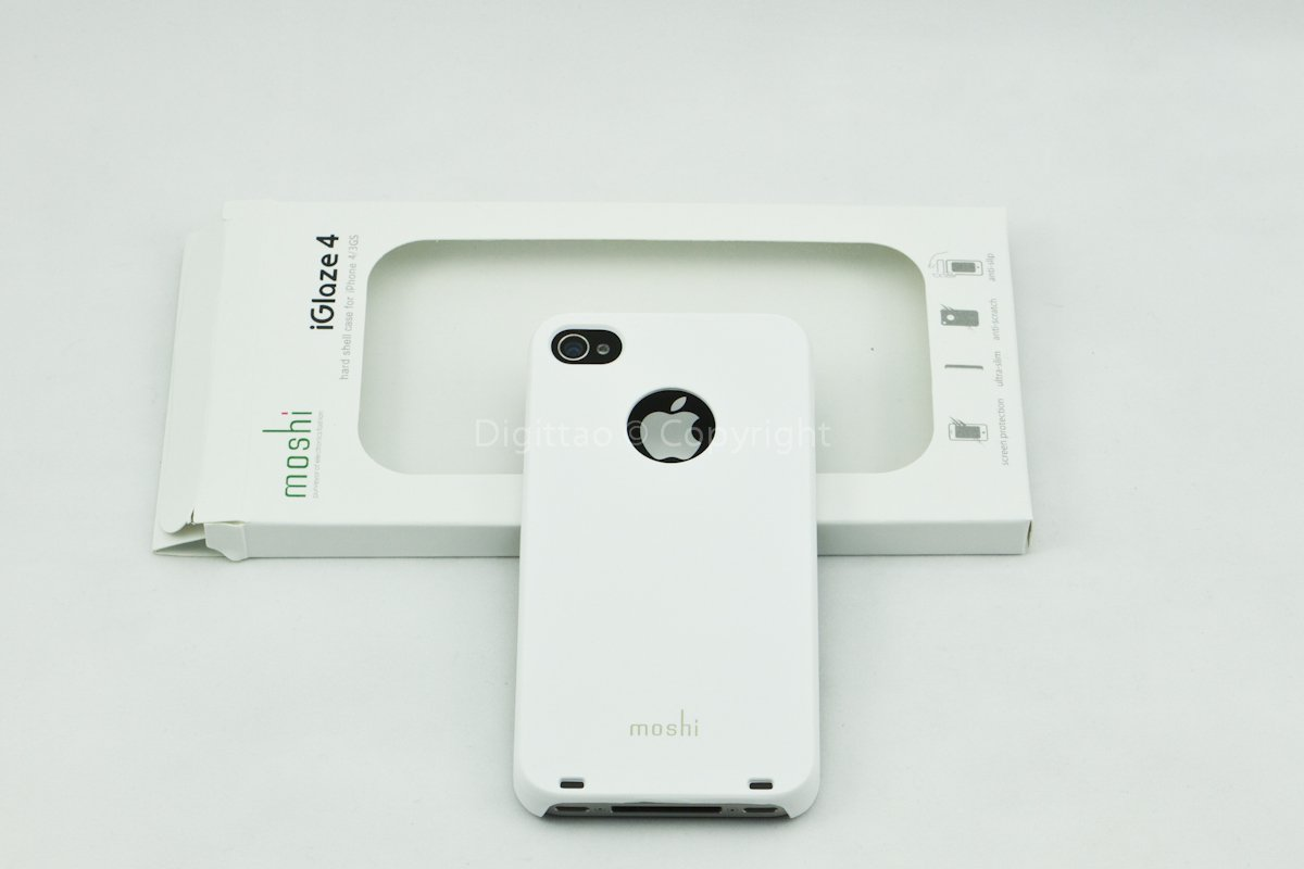 iPhone4 cases Moshi (WHITE)