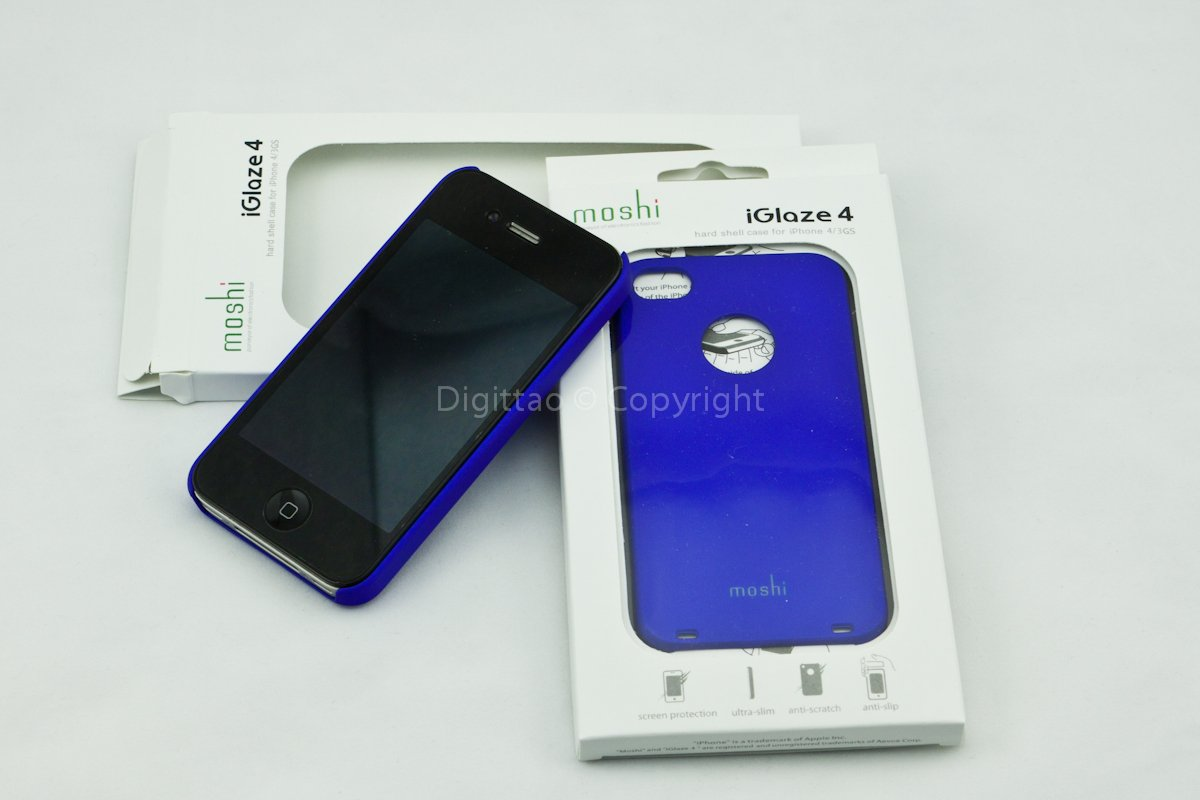 iPhone4 cases Moshi (BLUE)