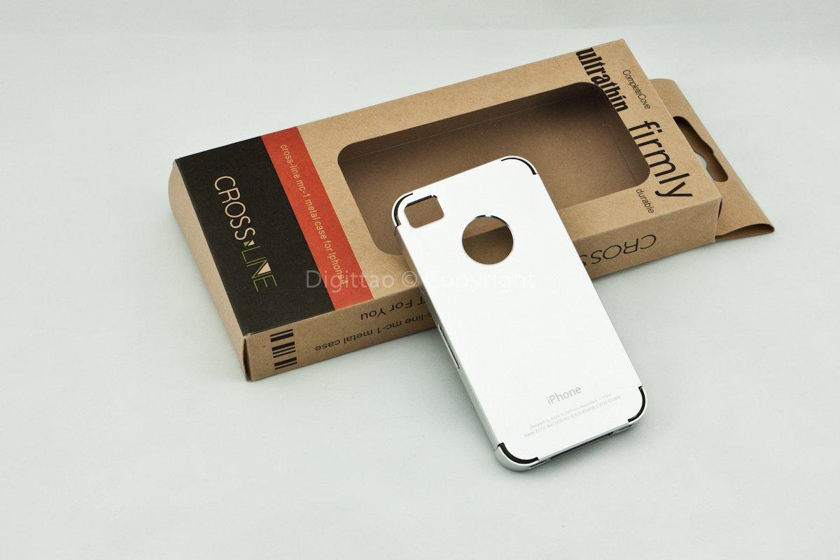 iPhone4 cases Crossline (Sliver)
