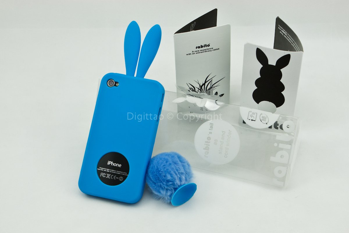 iPhone4 cases Rabito (BLUE)