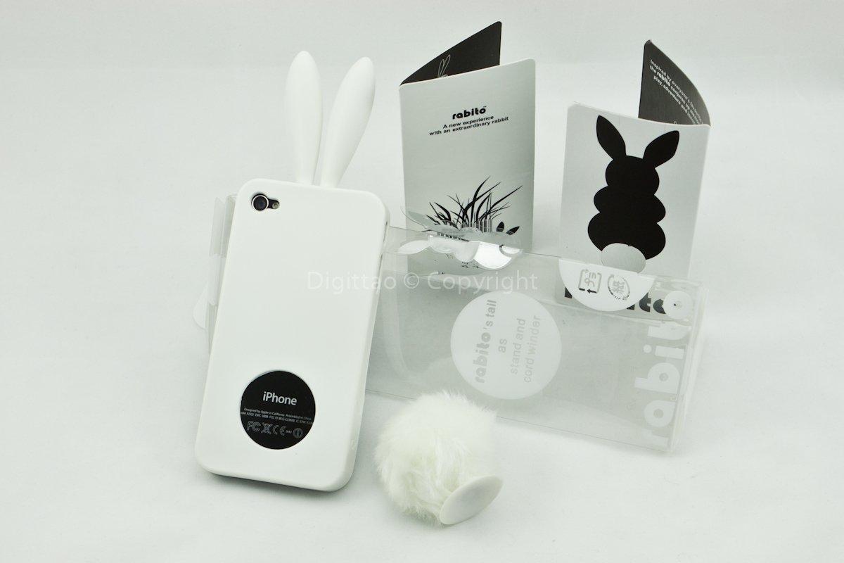 iPhone4 cases Rabito (WHITE)