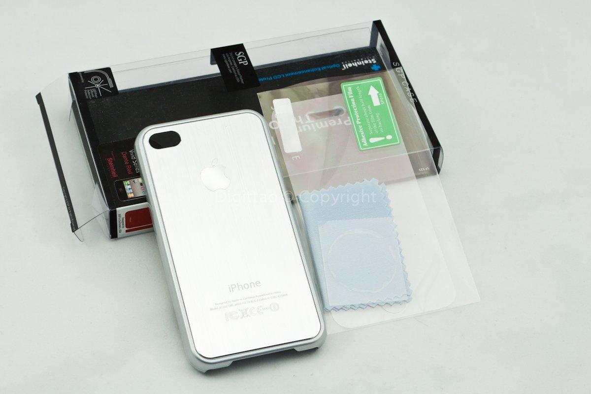iPhone4 case SGP (SILVER)