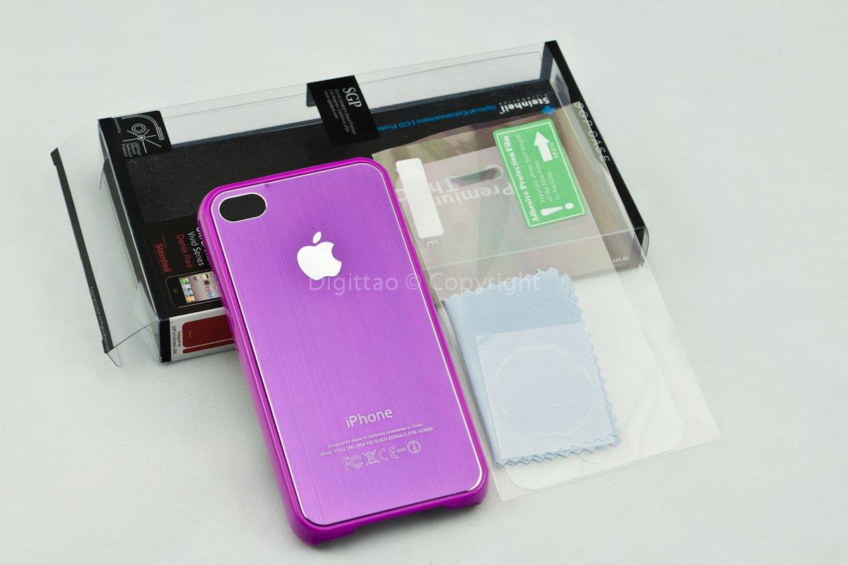 iPhone4 case SGP (PURPLE)