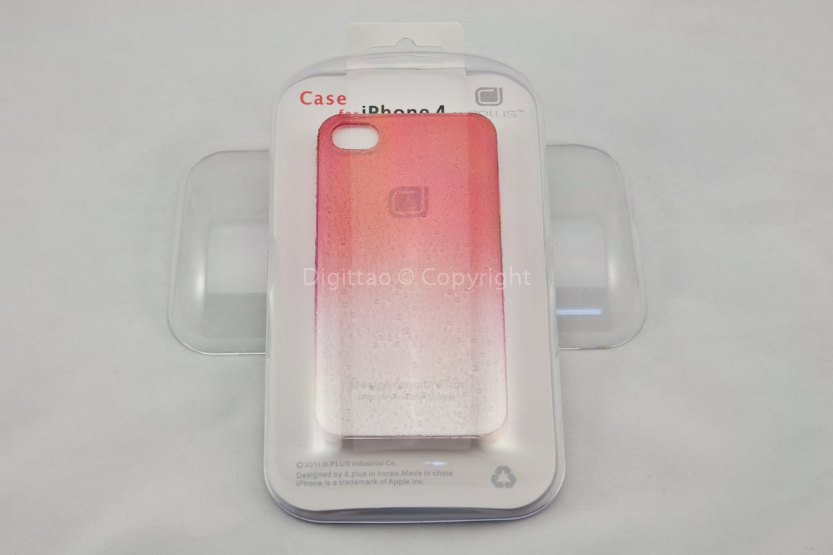 iPhone4 cases WaterDrops Plus+ (RED)