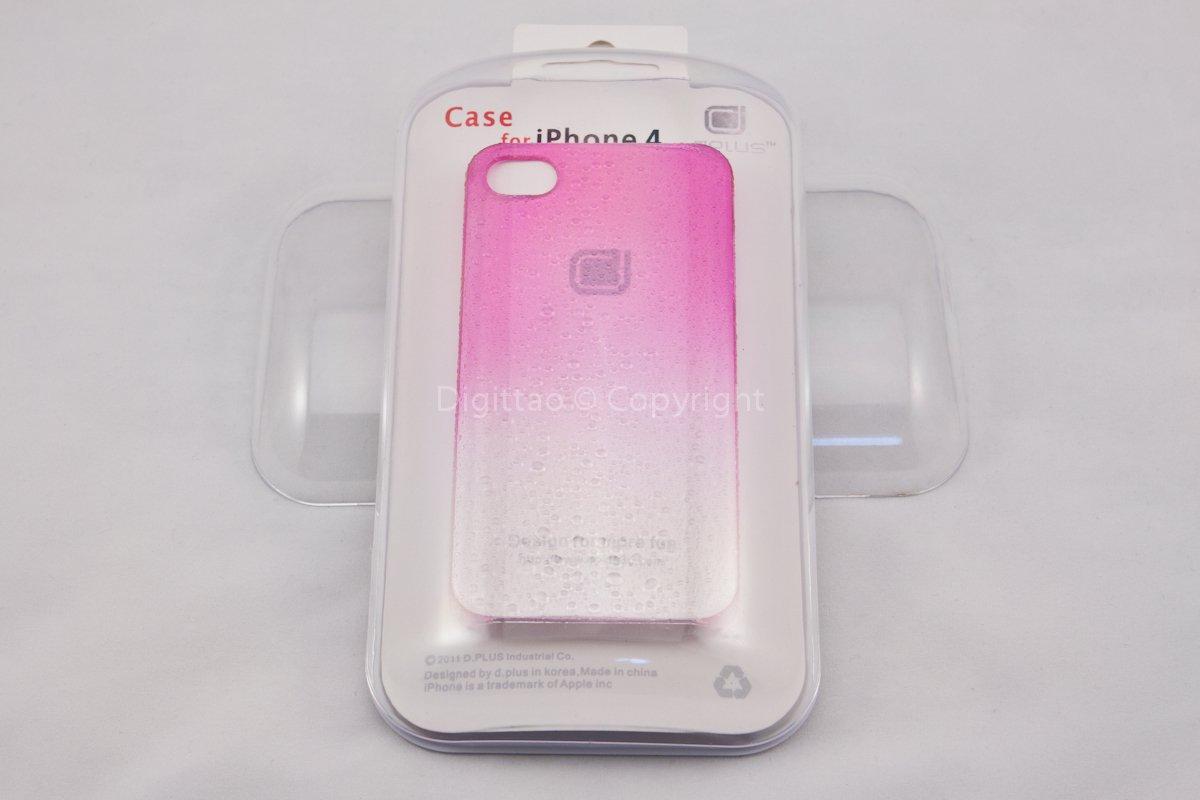 iPhone4 cases WaterDrops Plus+ (FUCHSIA)