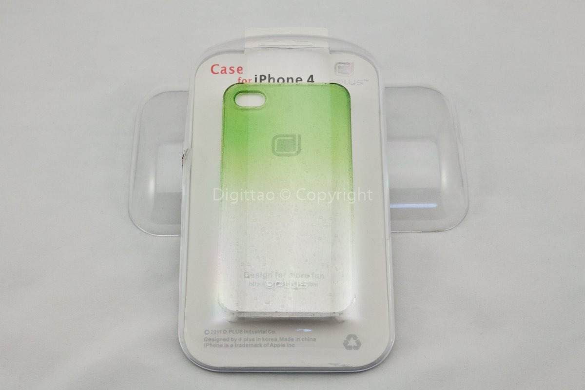 iPhone4 cases WaterDrops Plus+ (GREEN)