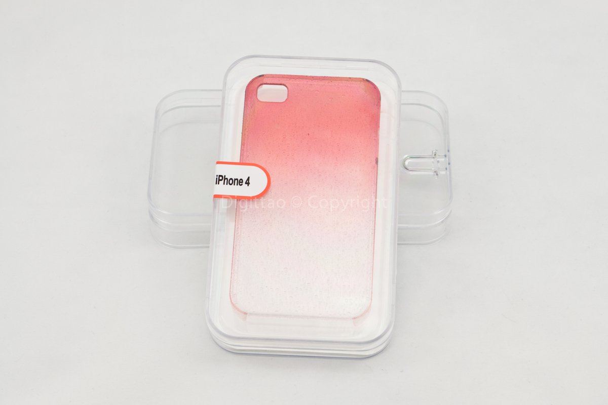 iPhone cases WaterDrops classic (RED)