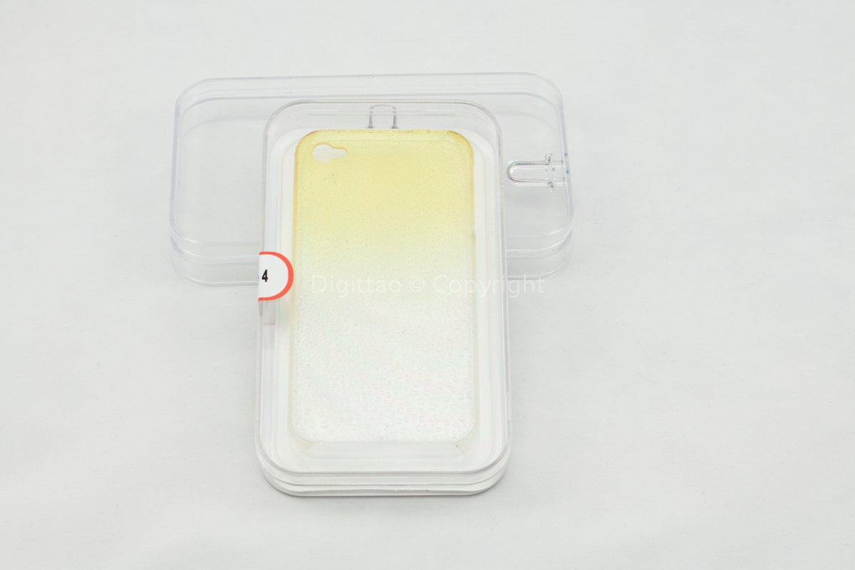 iPhone cases WaterDrops classic (YELLOW)