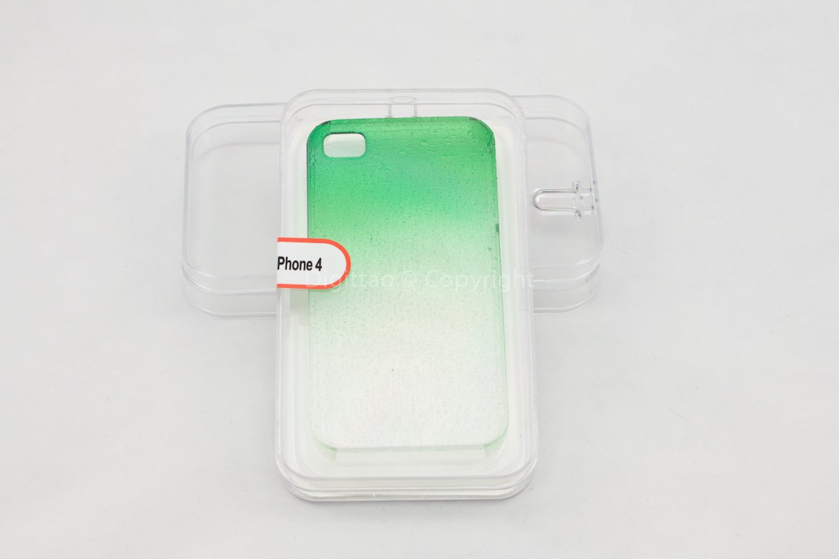 iPhone cases WaterDrops classic (GREEN)