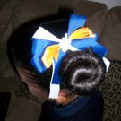 Customized School Color Hair Bows