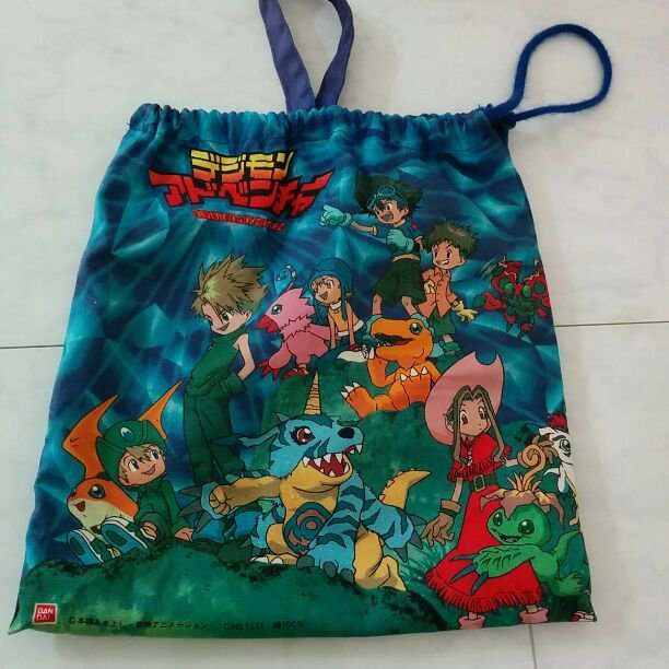 Digimon Adventure Tri Digidestined Chosen Children Bag Backpack Napsack Courier PREORDER