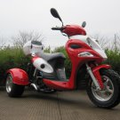 50cc Trike Moped Scooter