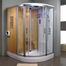 Steam Shower Dry Sauna Combo Unit