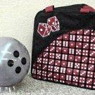 Clear Dice Bowling Ball & Bag