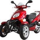 50cc Three Wheeled Scooter