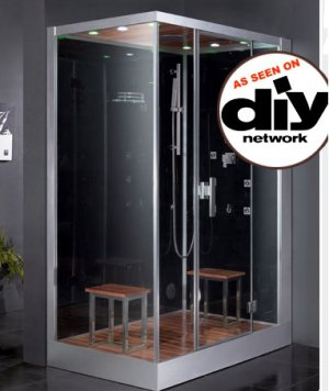 Incroyable Standalone Steam Shower Unit