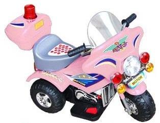 Girls Pink Motorized Cycle