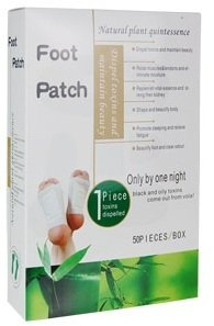 Silver Detox Foot Patches