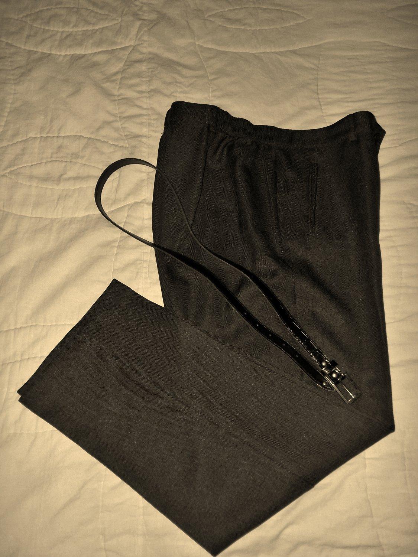 Belted Slacks