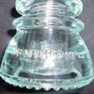 Vintage Telegraph Transmission Glass Insullator Hemingray 42